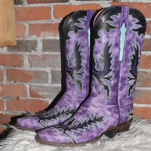 LUCCHESE CLASSICS Stunning Cowboy Boots 10